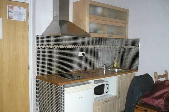 Ajoupa Apart'hotel Nice : cucina