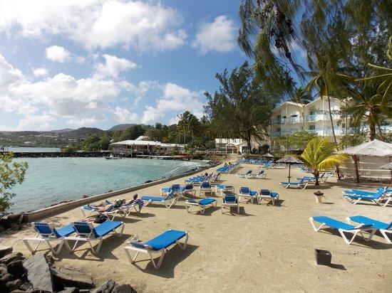 Carayou Hotel & Spa: plage
