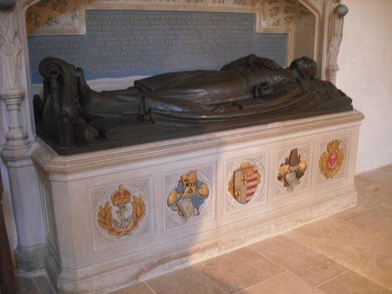 Boxgrove Priory: Nelson-Ward Tomb