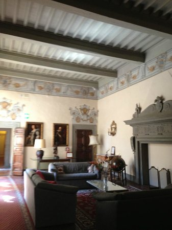 Hotel San Michele: Upstairs common sitting area