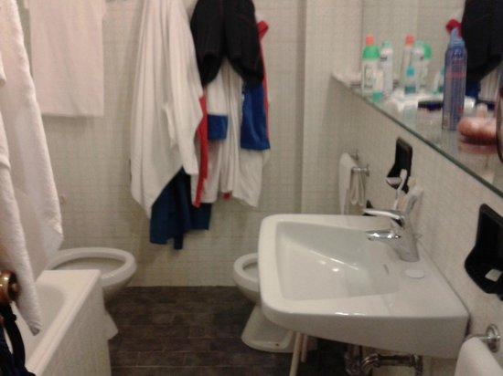 Hotel Terme Marconi: Bagno così così