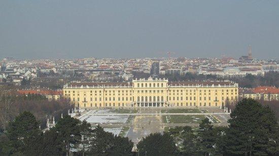 Schloss Schönbrunn: Vista de cima