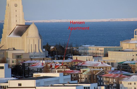 Down town Reykjavik, I will find the Hansen apartments