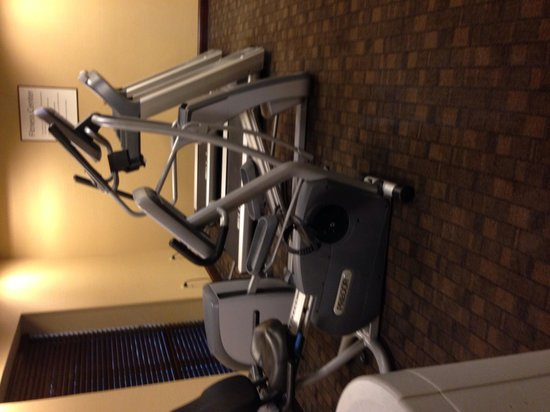 Holiday Inn Express Hotel & Suites Wilmington-Newark : Very limited gym but does the job