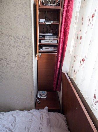 Historical Preferred Hotel Old City: Коммутационное оборудование в изголовье кровати