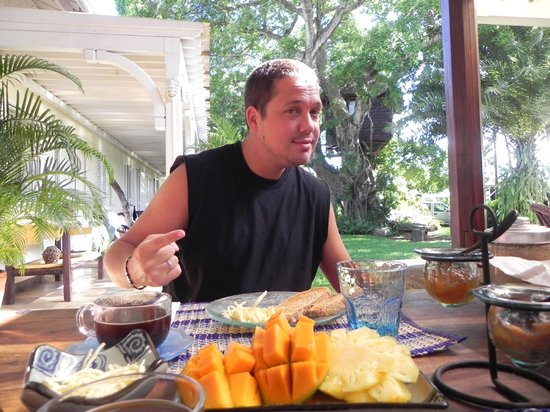 Tree Lodge Mauritius: Petit dej