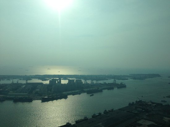 85 Sky Tower Hotel: Harbour view