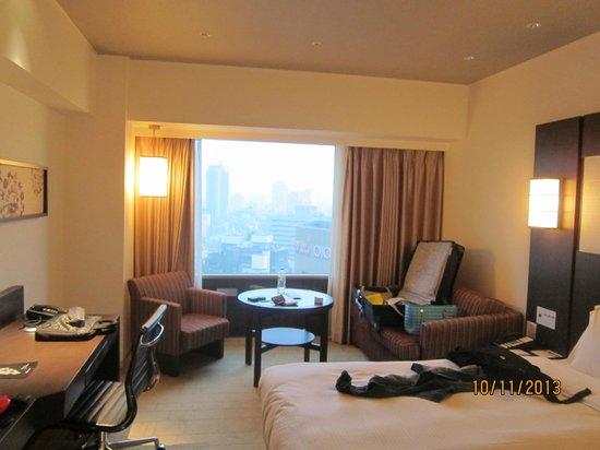 Swissotel Nankai Osaka : Our room in Swissotel