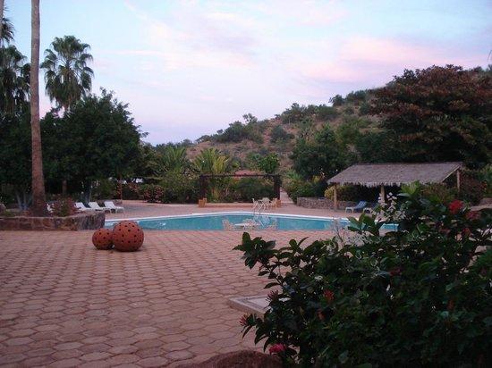 Hotel Tripui: view from veranda