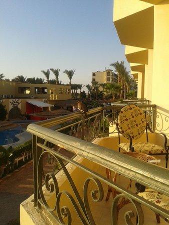 Panorama Bungalows Aqua Park Hurghada : Вид с балкона