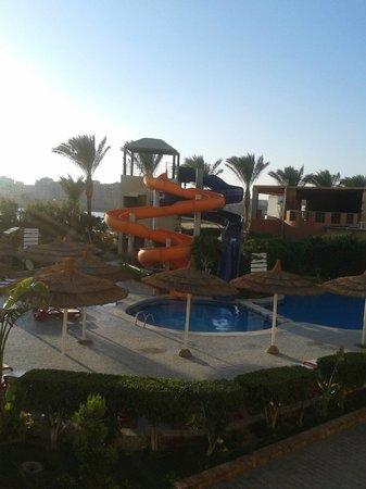 Panorama Bungalows Aqua Park Hurghada : Горки