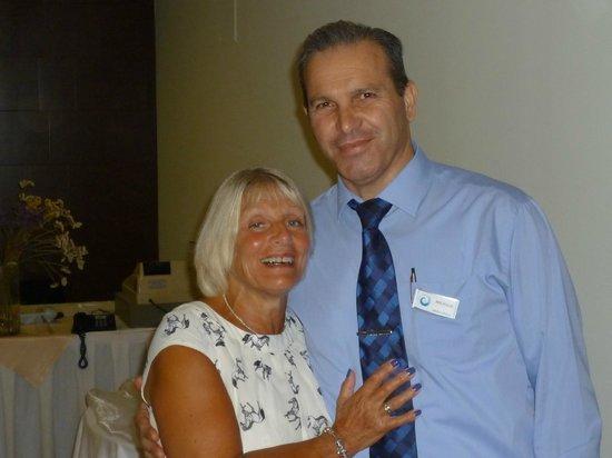 Avra Beach Resort Hotel - Bungalows : Lynne & Restaurant Manager