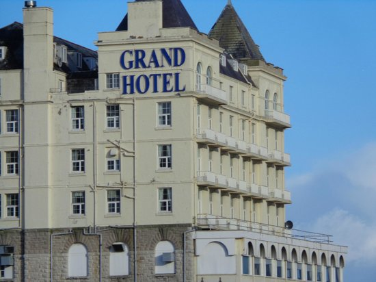 The Grand Hotel - Llandudno: View from promenade