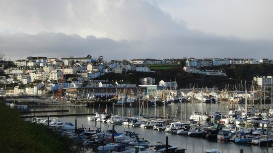 Penny Steps: View of Brixham harbour