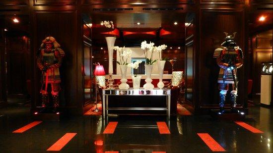 Aleph Hotel Rome: Lobby approach