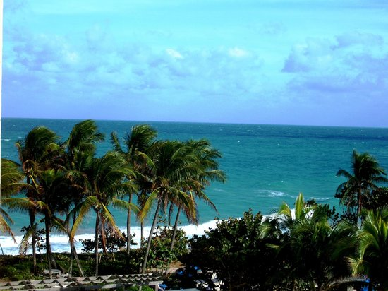Jupiter Beach Resort & Spa: View from our Balcony
