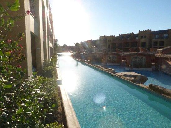 Titanic Beach Spa & Aqua Park : The swim up pool to our room