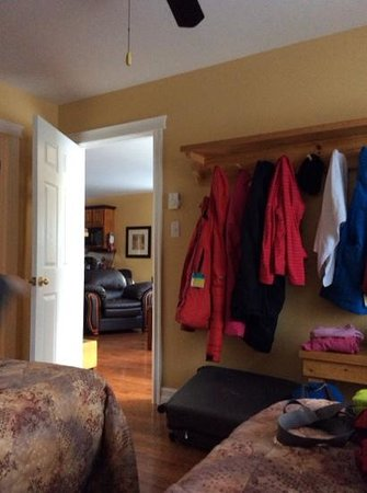 Marblewood Village Resort : Conveient hooks in most rooms to warm-up and dry your gear.