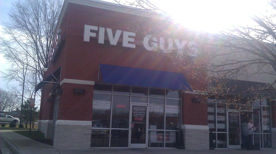 Five Guys on Laburnum Avenue