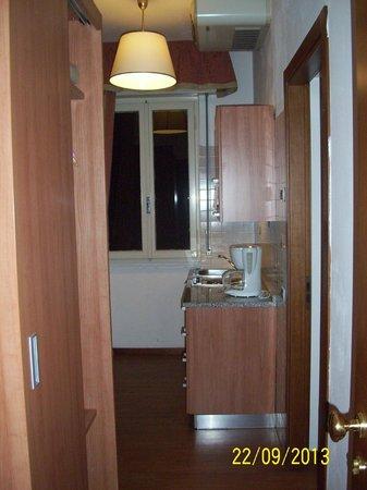 Residence Castelli : Küche