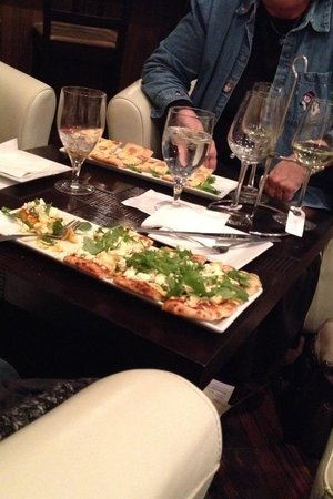 The Wine Valley : Their Flatbreads are creative and unique. Yum!