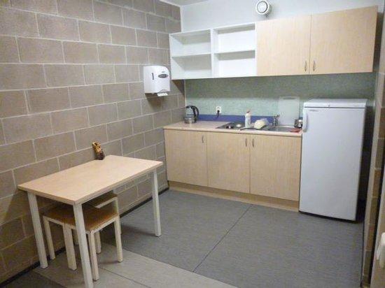 Academic Hostel: キッチンスペース