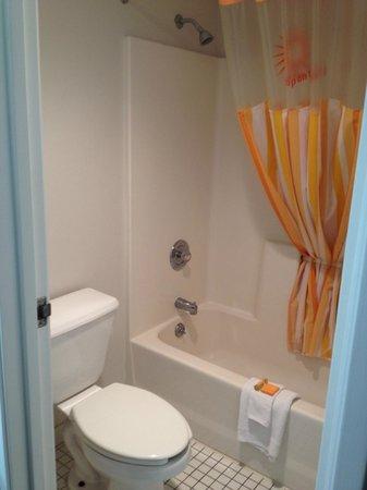 La Quinta Inn Tampa Near Busch Gardens: Baño de la Habitacion