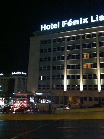 HF Fenix Lisboa: Fachada do hotel