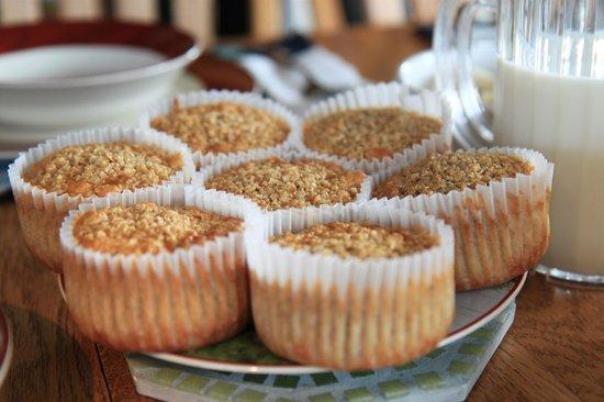Airy Hill Farm B&B: oatmeal cupcakes