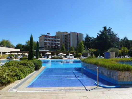 Hotel Sollievo Terme: Pool