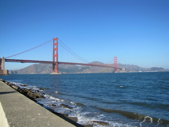 Blazing Saddles Bike Rentals and Tours: View of the Golden Gate