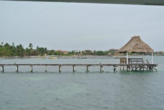 Cocotal Inn & Cabanas: pier