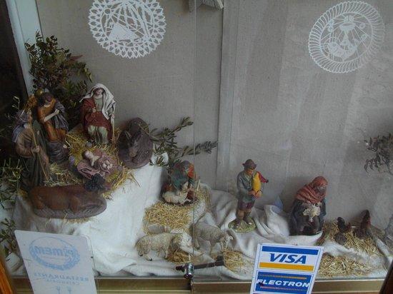 Sa Cova : The nativity.