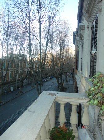 Conte House I: vista dal balcone
