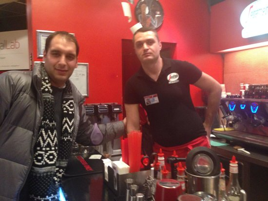 Segafredo Zanetti Espresso Yerevan: A good man, a good barista and good place to visit, love u guys, go there and enjoy everything t