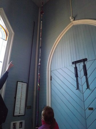 Kelley House Museum: Rope history in Presbyterian church