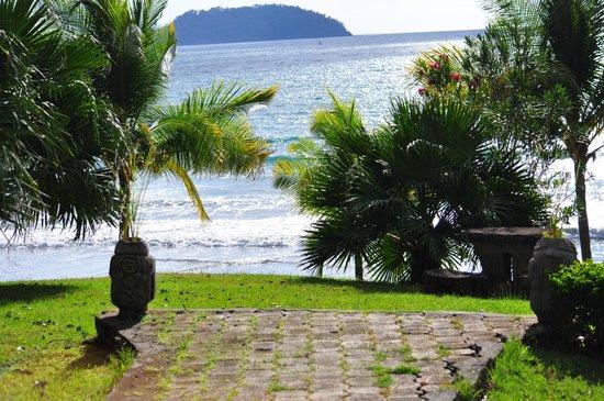 Sugar Beach Hotel: View from restaurant