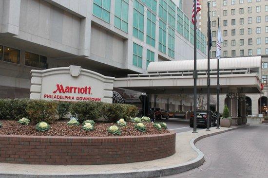 Philadelphia Marriott Downtown: Марриотт Филадельфия даунтаун