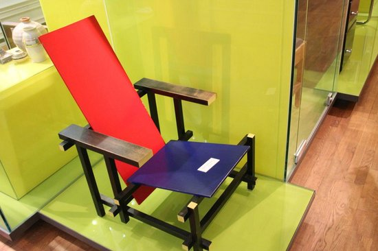 Drents Museum: Rietveld chair