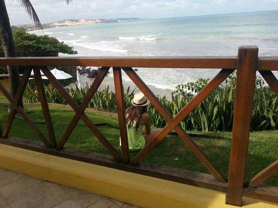 Dunas de Cotovelo : Restaurante falésias, praia de cotovelo, RN
