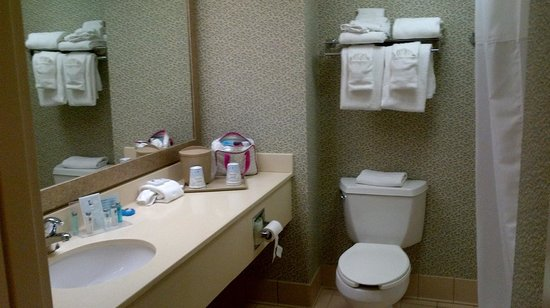 Meadowlands River Inn : Lovely clean bathroom with good shower.