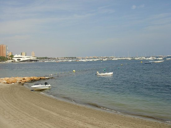 Miramar La Ribera: view of the Mar Menor from the restaurant