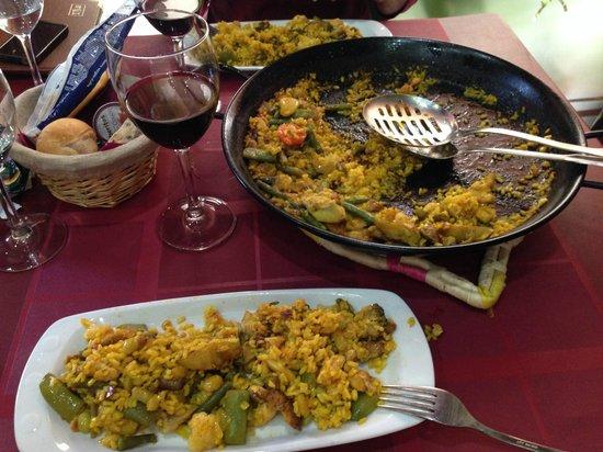El Rincon de las Paellas: Best Paella ever
