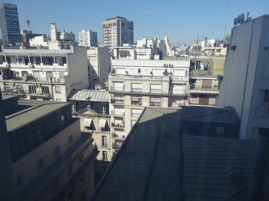 Sofitel Buenos Aires Arroyo: Back view from suite