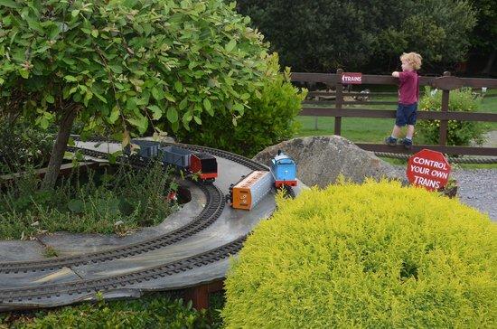 Gypsy Wood Park: Train Crash- it wasn't us!