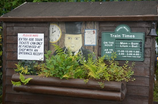 Gypsy Wood Park: extra trains rides cost