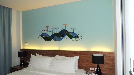 Natalie Resort: вид из коридора