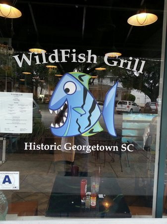 The WildFish Grill: Great logo