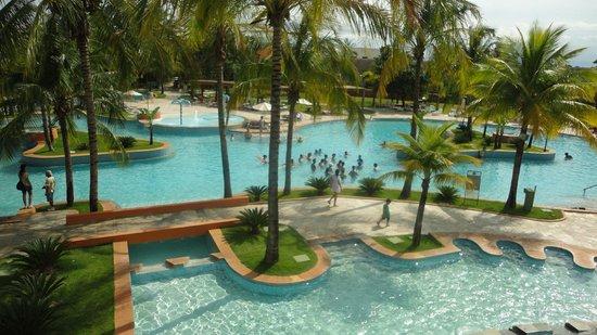 Blue Tree Park Lins: parte da piscina quente