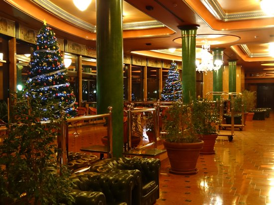 Milan Marriott Hotel: Reception (Christmas)